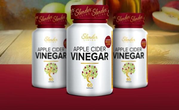 Slender living apple cider vinegar picture
