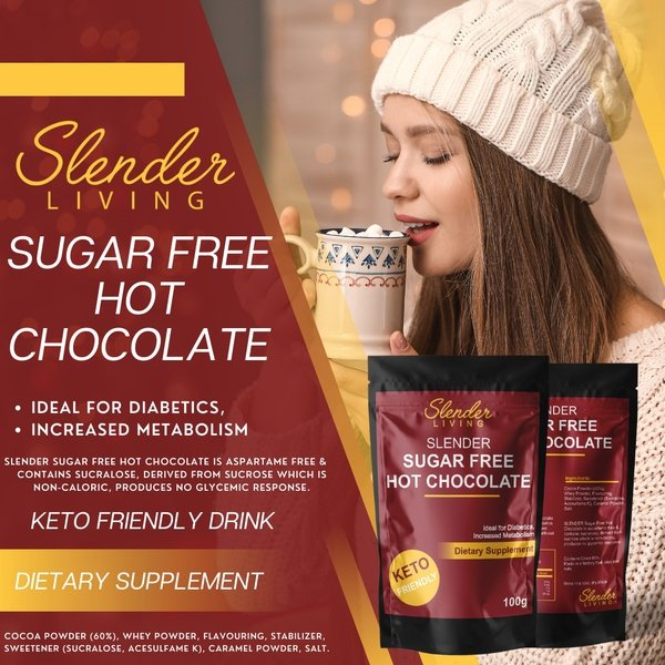 Slender living sugar free hot chocolate picture
