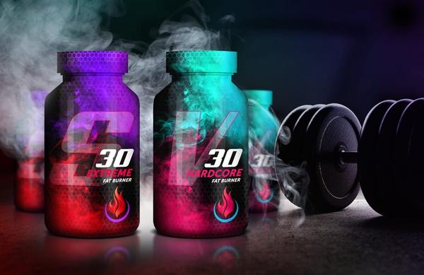 Gummy berry juice: v30 hardcore fat burner picture