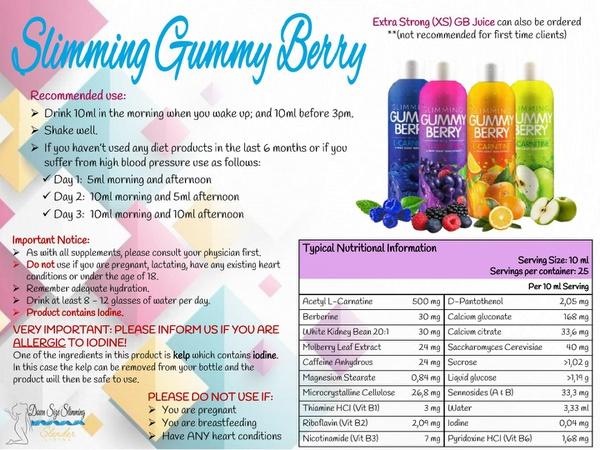 Gummy berry combo lipo picture