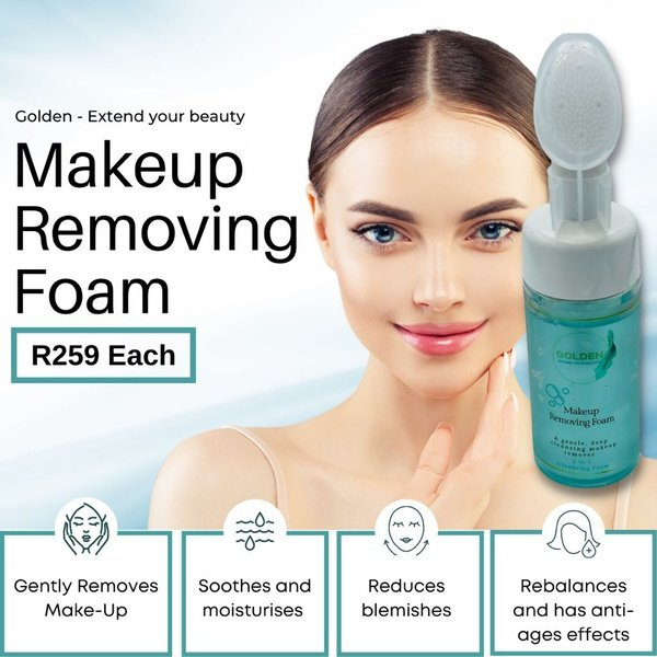 Make-up removing foam picture