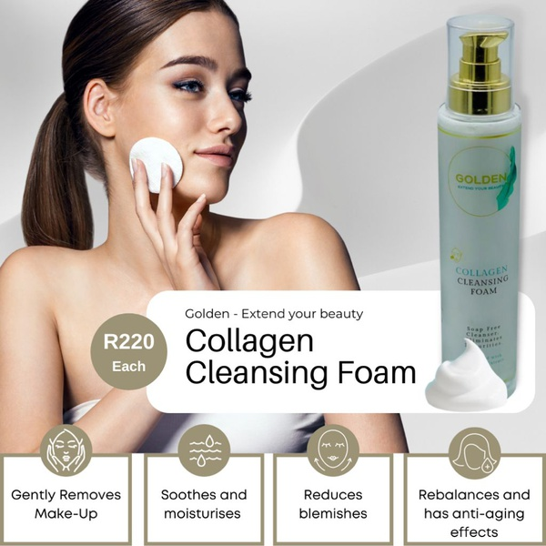Collagen cleansing foam picture