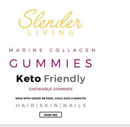 Slender living marine collagen gummies picture