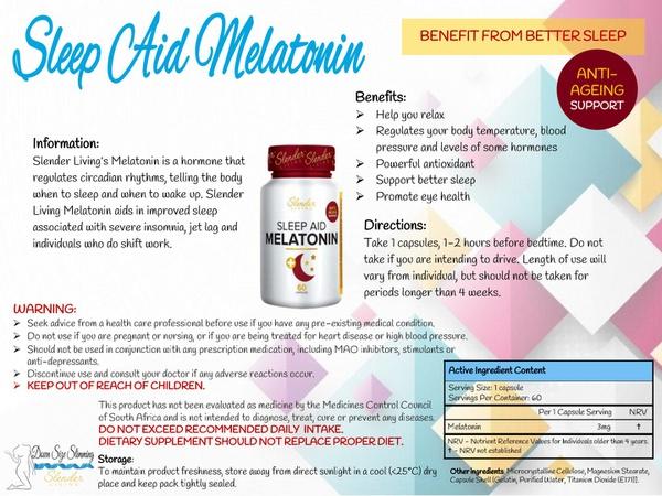 Slender living melatonin picture