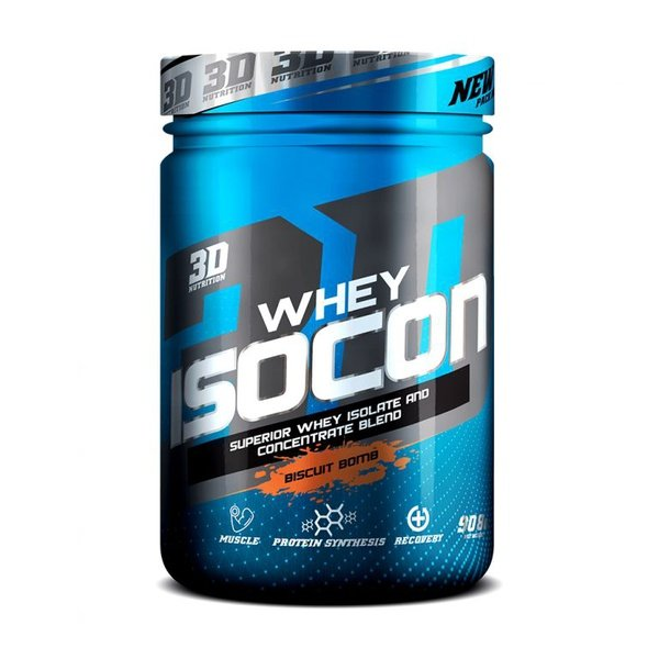3d nutrition whey isocon [908g] picture