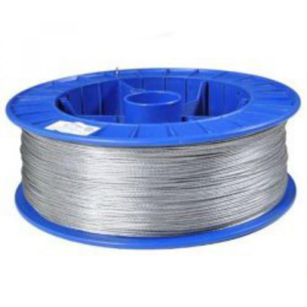 Braided wire - 1.6mm aluminium /1000m picture