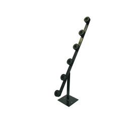 Fence pole - 6line tpole black picture