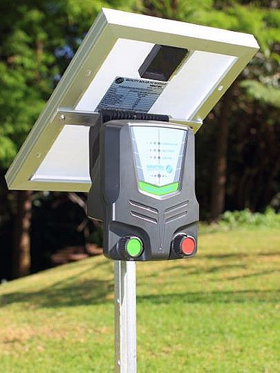 Agri 10 solar with 10w solar panel picture