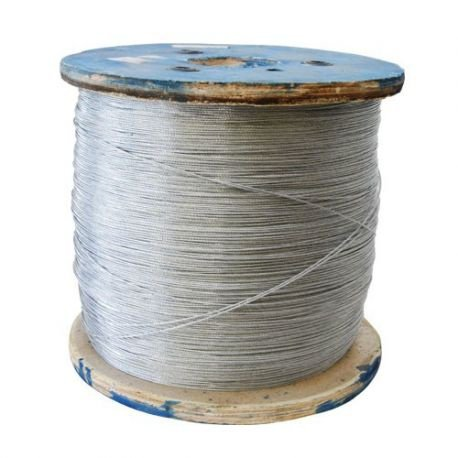 Braided wire - galv 1.2mm / 22kg reel picture