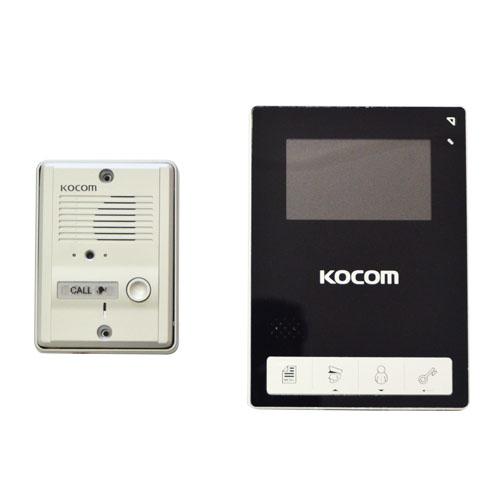 "Kocom - video kit 4.3"" colour handsfree picture"