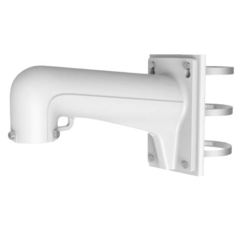 Hik ptz bracket pole mount white picture