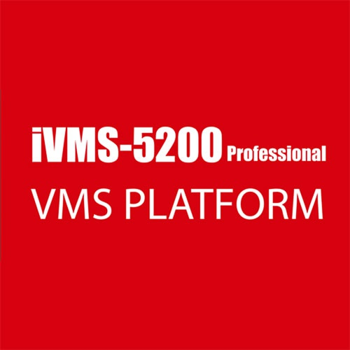 Hikvision ivms5200 single camera license picture