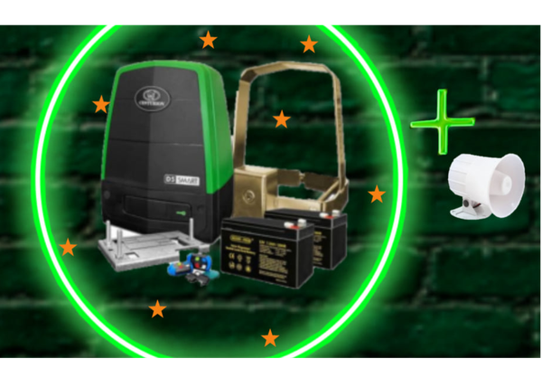Centurion d5 smart kit + free siren picture