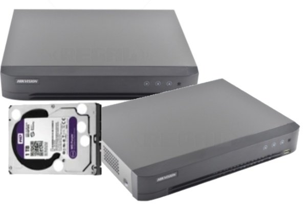 4 channel hd-tvi/ahd/cvbs dvr 7200 series incl 1tb hdd picture