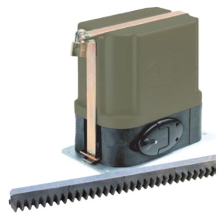 Et500 - 12v gate motor kit - nylon rack picture