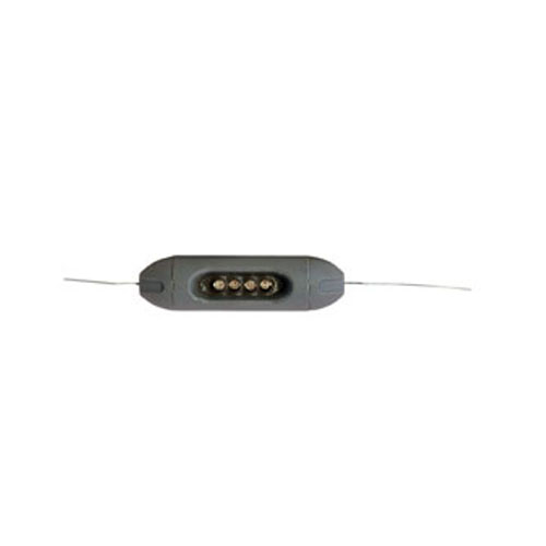 Electric fence high volt light galv grey picture