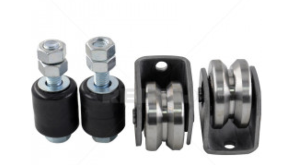 Gate wheel kit 60mm v-profile picture