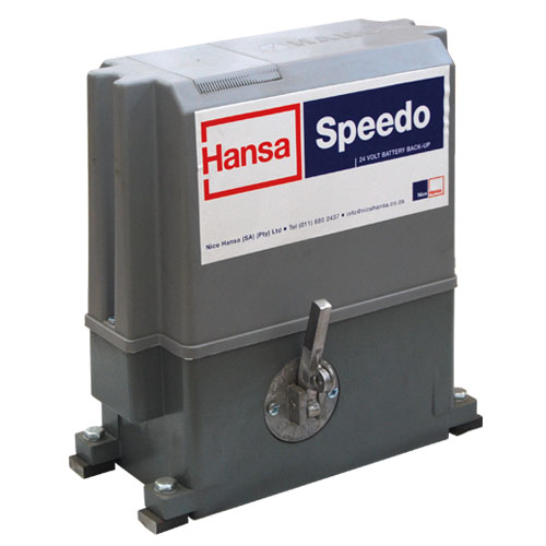 Hansa speedo 24v hd + 4m steel rack picture