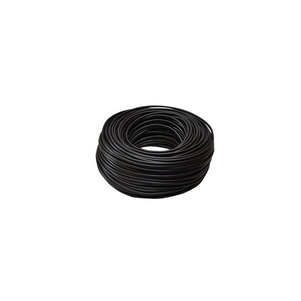 Ht cable - aluminium 100m solid black picture