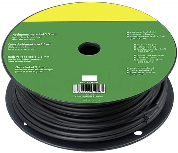 Ht cable underground 2.5mm 100m picture