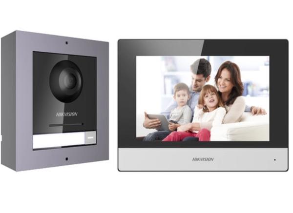Hikvision video intercom system picture