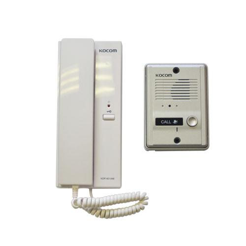 Kocom 1-1 audio intercom kit 220vac picture