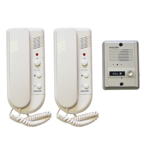 Kocom 1-2 audio intercom kit 220vac picture