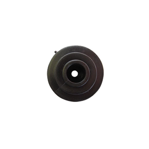 Insulator - 4mm black flat bar picture