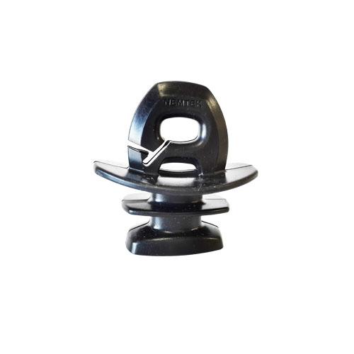 Insulator - jurassic - black 6.2mm slot picture