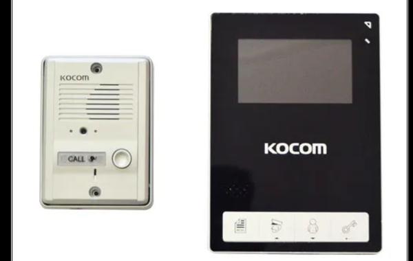 "Kocom - video kit 4.3"" color handsfree picture"