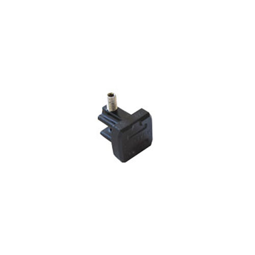 Modulas end cap 19x19mm black / 20 picture