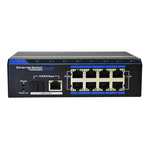 Switch 8 port 10/100mbps poe+1pgb+1psfp picture
