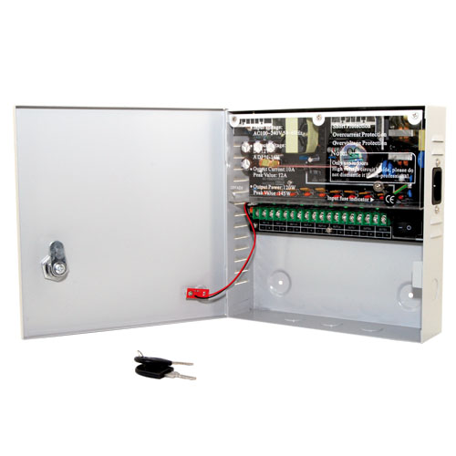 Psu - cctv 9way 10 amp distribution box picture