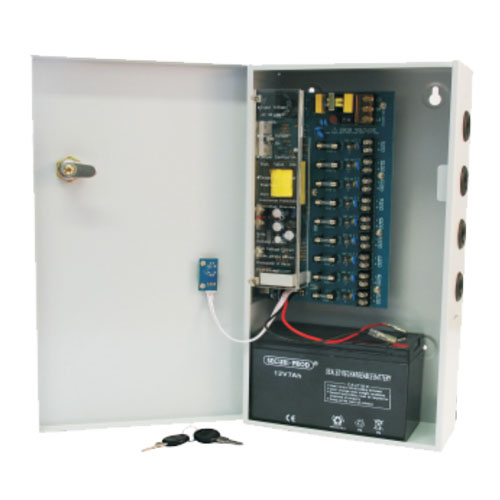 Psu - cctv 9way 8a dist box powerstore picture