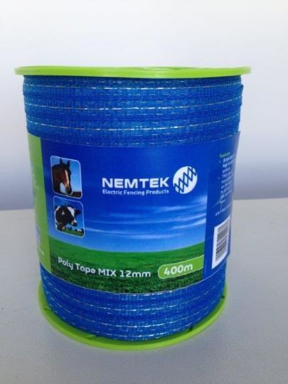 Poly tape - mix 12mm - 200m picture