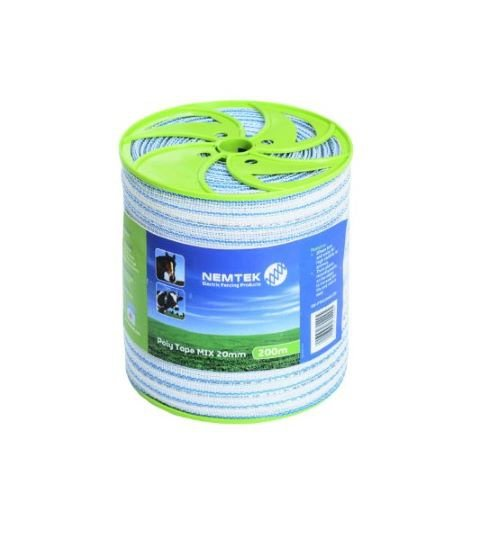 Poly tape - mix 20mm - 500m picture