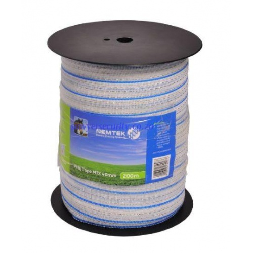 Poly tape - mix 40mm - 200m picture