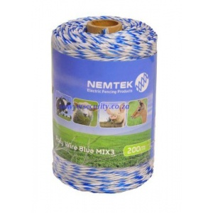 Poly wire - blue mix3 - 200m picture