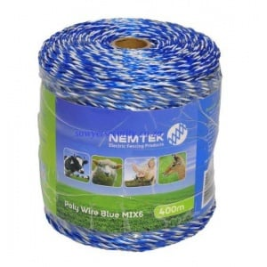 Poly wire - blue mix6 - 400m picture
