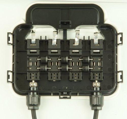 Solar module - 20 watt incl junction box picture