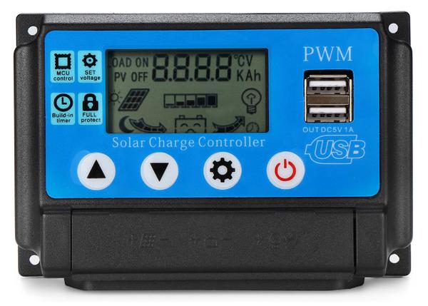Solar regulator - 12v-24v 15a - 24v auto picture