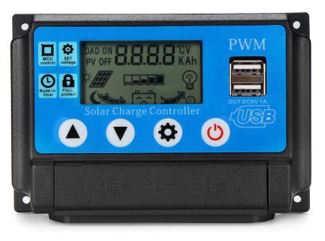 Solar regulator - 12v-24v 10a - 24v auto picture