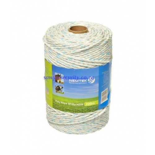 Poly rope - white mix6 - 200m picture