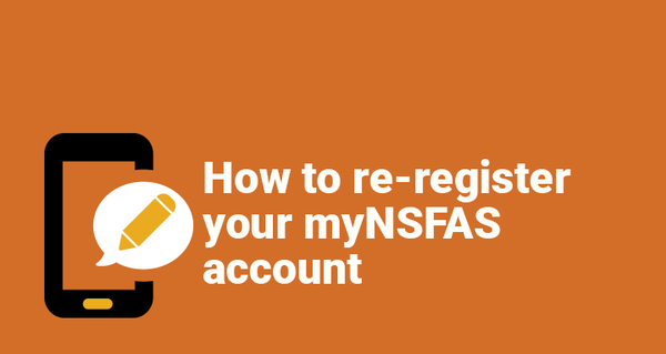 How to re-register your myNSFAS account picture