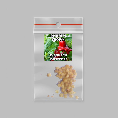 Bishop's crown chilli-pepper - 15,000 scovilles (50 seeds) picture