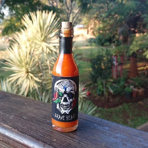 """""""brave heart"""" hot sauce (50 ml) picture"""