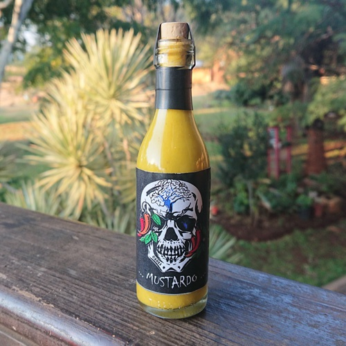 """mustardo"" hot sauce (50 ml) picture"