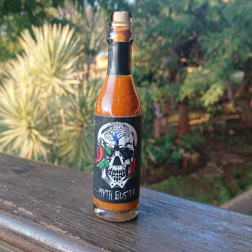 """""""myth buster"""" hot sauce (50 ml) picture"""