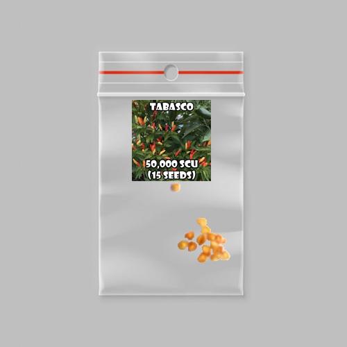 Tabasco chilli-pepper - 50,000 scovilles (15 seeds) picture