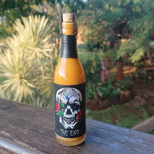 """""""the end"""" hot sauce (50 ml) picture"""
